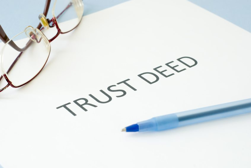 Who owns the assets of a trust?
