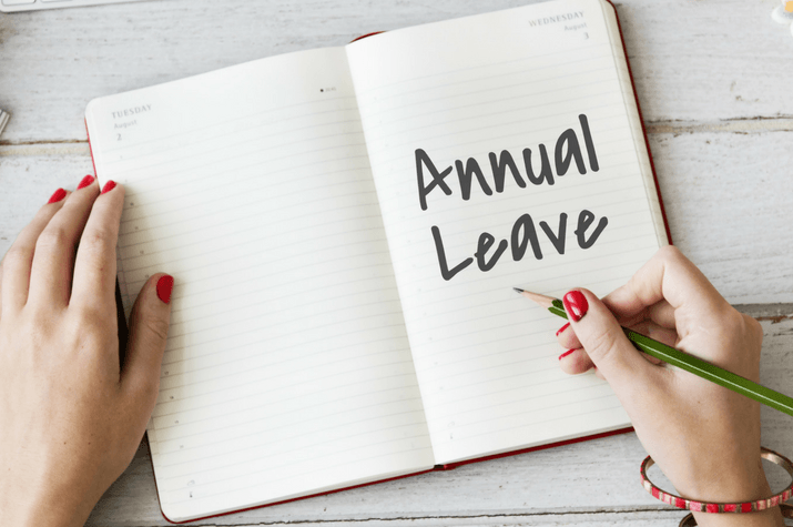 Have casual workers been granted annual leave?